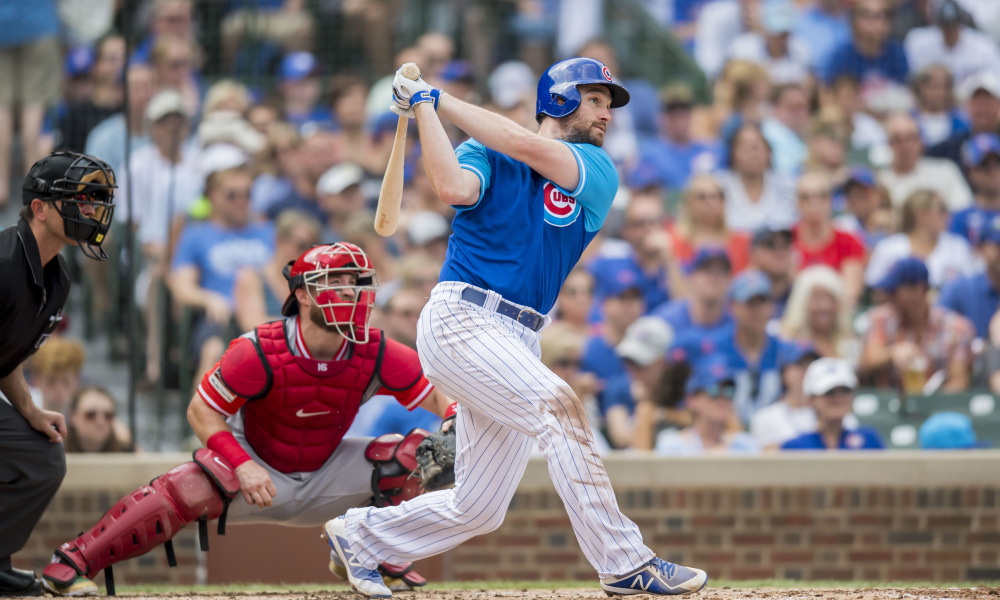 USP MLB: CINCINNATI REDS AT CHICAGO CUBS S BBN CHC CIN USA IL